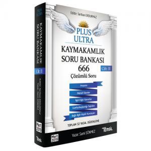 Temsil Plus Ultra Kaymakamlık Konu Çalışma Kitabı Cilt 2
