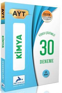 PRF Yayınları AYT Kimya Video Çözümlü 30 Deneme