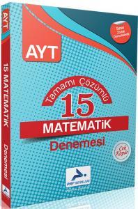 PRF Yayınları AYT Matematik 15 Denemesi