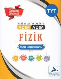 PRF Yayınları TYT Fizik Adım Adım Tamamı Çözümlü Soru Kütüphanesi