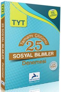 PRF Yayınları TYT Sosyal Bilimler Tamamı Çözümlü 25 Denemesi