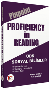Proficiency In Reading, ÜDS Sosyal Bilimler