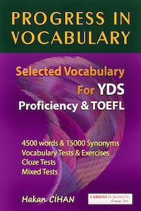 Progress in Vocabulary - Hakan Cihan
