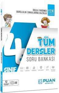 Puan Yayınları 4. Sınıf Tüm Dersler Soru Bankası