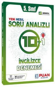 Puan Yayınları 5. Sınıf İngilizce Soru Analizli 10+1 Deneme