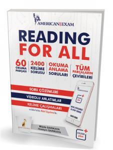 Reading For All Soru Çözümleri Video Anlatımlar Kelime Çalışmaları - Müjde Sarıkaya, Hüseyin Sarıkaya