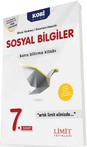 Limit 7. Sınıf Sosyal Bilgiler Konu Bitirme Kitabı