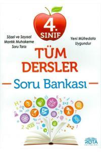 RTY Rota 4. Sınıf Okula Yardımcı Tüm Dersler Soru Bankası