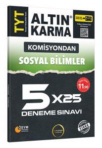 Altın Karma Komisyondan TYT Sosyal Bilimler 5x25 Deneme Sınavı