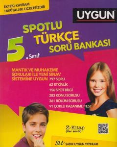 Sadık Uygun Yayınları 5. Sınıf Türkçe Spotlu Soru Bankası