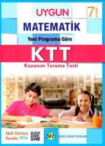 Sadık Uygun Yayınları 7. Sınıf Matematik Kazanım Tarama Testi