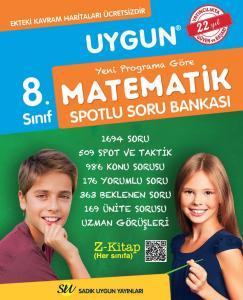 Sadık Uygun Yayınları 8. Sınıf Matematik Spotlu Soru Bankası