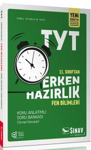 Sınav Yayınları 11. Sınıf Fen Bilimleri TYT Erken Hazırlık Konu Anlatımlı Soru Bankası