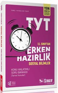 Sınav Yayınları 11. Sınıf Sosyal Bilimler TYT Erken Hazırlık Konu Anlatımlı Soru Bankası
