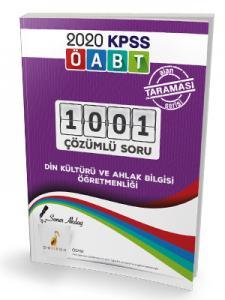 Pelikan Yayınları 2020 KPSS ÖABT Din Kültürü ve Ahlak Bilgisi Öğretmenliği Alan Taraması Serisi 1001 Çözümlü Soru Bankası