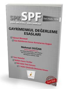 Pelikan SPK - SPF Gayrimenkul Değerleme Esasları Konu Anlatımlı Soru Bankası 1014
