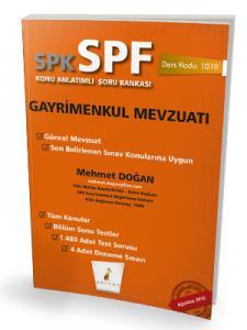 Pelikan SPK - SPF Gayrimenkul Mevzuatı Konu Anlatımlı Soru Bankası 1019