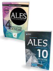 Pelikan ALES 4 Dörtlük Deneme + Pegem ALES 10 Deneme Seti