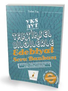 Pelikan AYT Taktiksel Bilgilerle Edebiyat Soru Bankası
