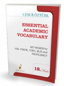 Pelikan Essential Academic Vocabulary - Cesur Öztürk