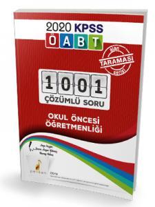 Pelikan Yayınları 2020 ÖABT Okul Öncesi Öğretmenliği 1001 Çözümlü Soru