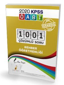 Pelikan Yayınları 2020 ÖABT Rehber Öğretmenliği 1001 Çözümlü Soru