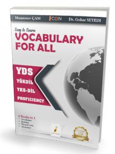 Easy to Learn Vocabulary for All YDS YÖKDİL YKS-DİL PROFICIENCY