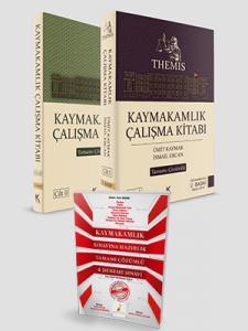 Kuram THEMIS Kaymakamlık Çalışma Kitabı 2 Cilt + Deneme