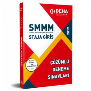 Deha SMMM Staja Giriş 7 Çözümlü Deneme Sınavları 2019