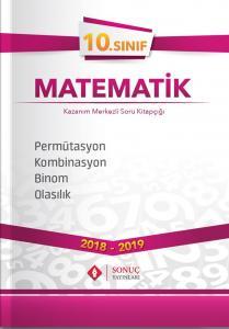 Sonuç Yayınları 10. Sınıf Matematik Permütasyon Kombinasyon Binom Olasılık