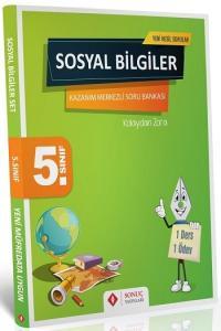 Sonuç Yayınları 5. Sınıf Sosyal Bilgiler Kazanım Merkezli Soru Bankası Seti