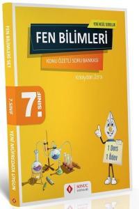 Sonuç Yayınları 7. Sınıf Fen Bilimleri Kazanım Merkezli Soru Bankası Seti