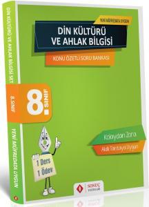 Sonuç Yayınları 8. Sınıf Din Kültürü ve Ahlak Bilgisi Konu Özetli Soru Bankası