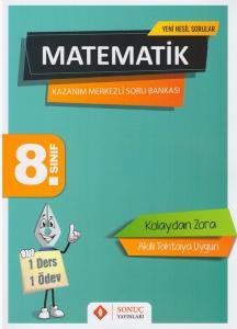 Sonuç Yayınları 8. Sınıf Matematik Kazanım Merkezli Soru Kitapçığı Seti
