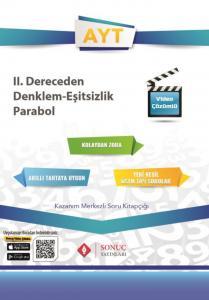 Sonuç Yayınları AYT 2. Dereceden Denklemler Eşitsizlik Parabol