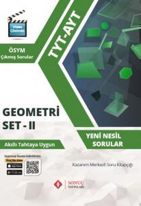 Sonuç Yayınları TYT AYT Geometri Set 2 Kazanım Merkezli Soru Kitapçığı