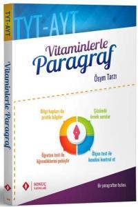 Sonuç Yayınları TYT AYT Vitaminlerle Paragraf