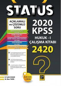 Status KPSS A Gurubu Hukuk I Çalışma Kitabı