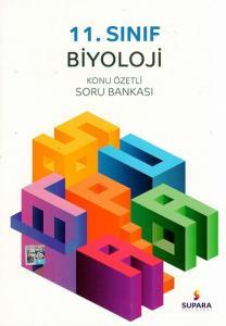 Supara Yayınları 11. Sınıf Biyoloji Konu Özetli Soru Bankası