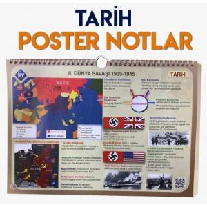 KR Akademi YKS TYT Tarih Poster Notlar