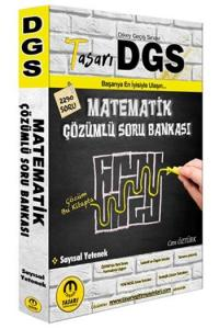 Tasarı Yayınları 2020 DGS Matematik Çözümlü Soru Bankası