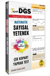 Tasarı Yayınları DGS Sayısal Yetenek Çek Kopart Yaprak Test