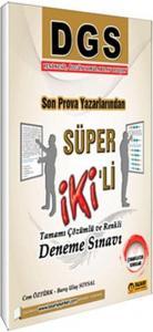 Tasarı Yayınları DGS Süper İkili Tamamı Çözümlü ve Renkli Deneme Sınavı