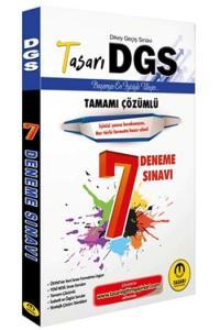 Tasarı Yayınları DGS Tamamı Çözümlü 7 Deneme Sınavı