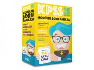 2019 KPSS Genel Yetenek Genel Kültür Modüler Soru Bankası Tek Uzem Yayınları