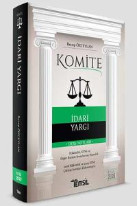 Komite İdari Yargı Ders Notları  Temsil Kitap Yayınları