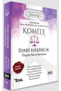 KOMİTE İdari Hakimlik Özgün Soru Bankası