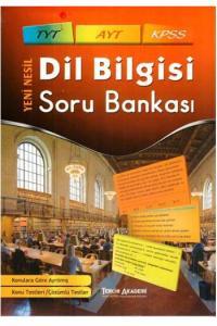 Tercih Akademi Yayınları TYT AYT KPSS Dil Bilgisi Soru Bankası
