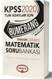 Yediiklim Yayınları 2020 KPSS Bumerang Matematik Tamamı Çözümlü Soru Bankası