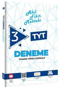 Tonguç Akademi TYT Akıl Fikir Mektebi Tamamı Video Çözümlü 3 Deneme